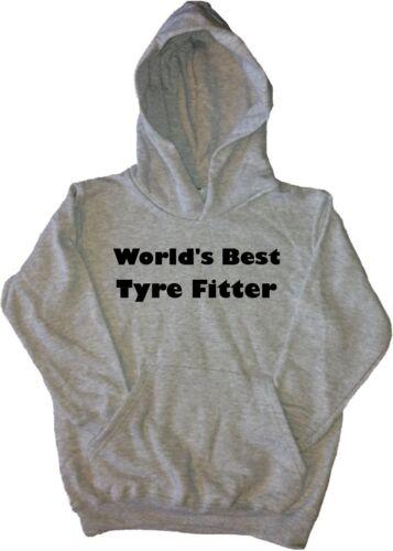 World's Best Tyre Fitter Kids Hoodie Sweatshirt