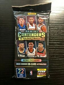 2019-20-Panini-Contenders-Basketball-fat-pack-cello-hanger-Zion-rookie-30-Qty