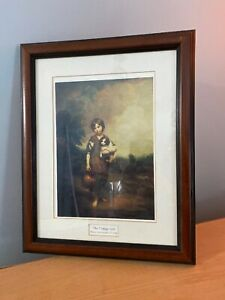 The-Cottage-Girl-by-Thomas-Gainsborough-1727-1788-Art-Print-Framed-amp-Matted-Rare
