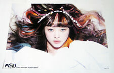 F(x) ELECTRIC SHOCK -  SULLI VERSION Poster Unfolded in Tube- POSTER ONLY
