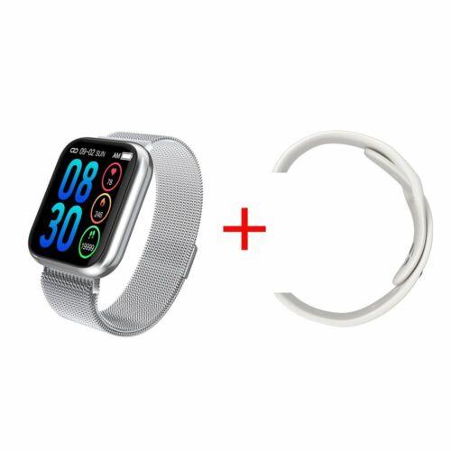 Fitness Armband mit Pulsmesser Smartwatch Smart Armband Sportuhr für iOS Android