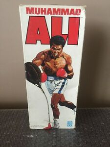 1976 Denys Fisher Mego Muhammad Ali SUPER RARE WHITE BOX!! Holy Grail