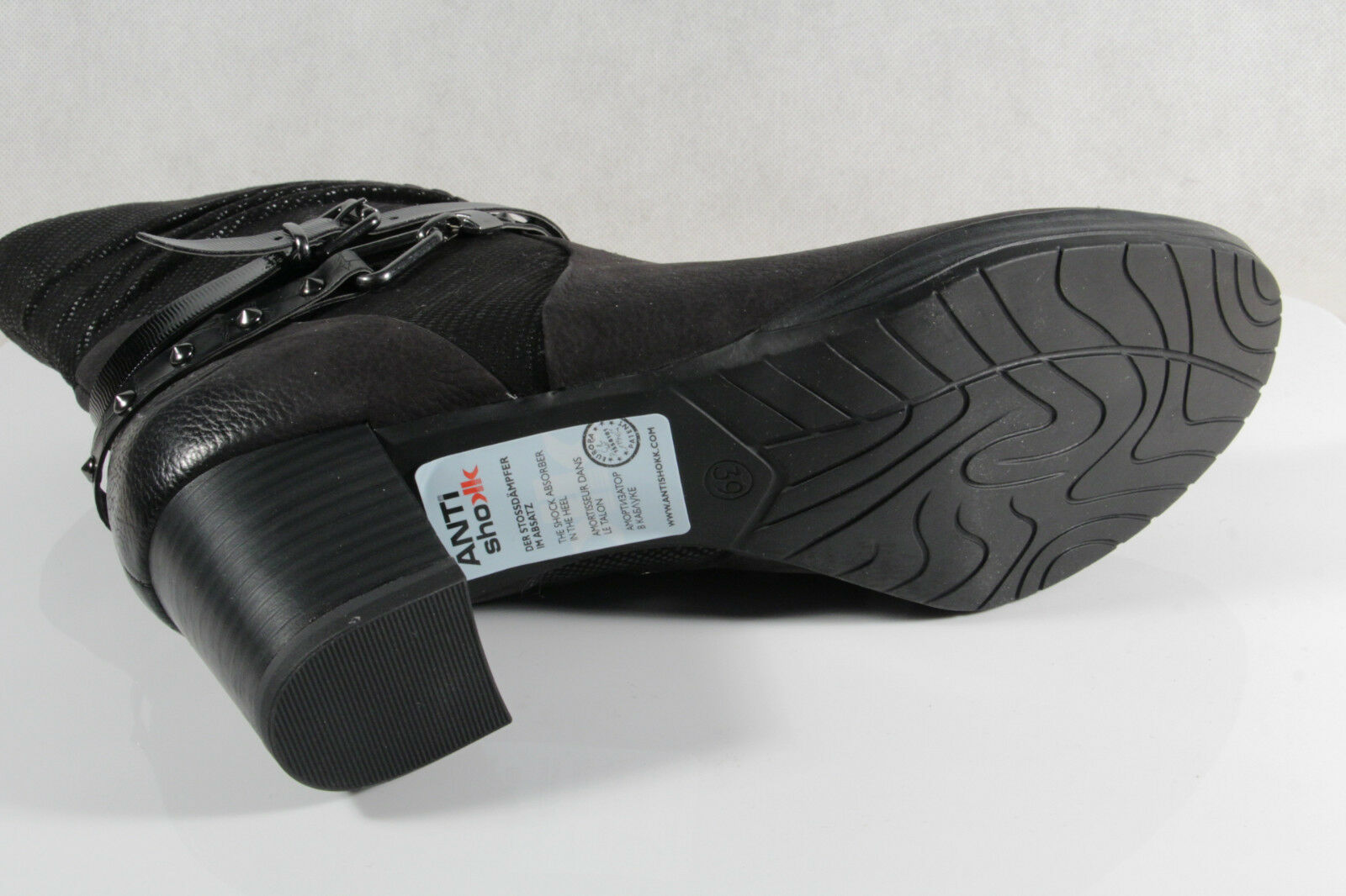 Marco Tozzi 25421 Stiefelette Stiefel, schwarz, Leder 25421 Tozzi NEU 01bd39