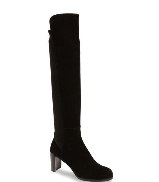 NIB Authentic Stuart weitzman Soho Tall Elastic Elastic Elastic Back Knee High démarrage 9.5 M  685 c9c360