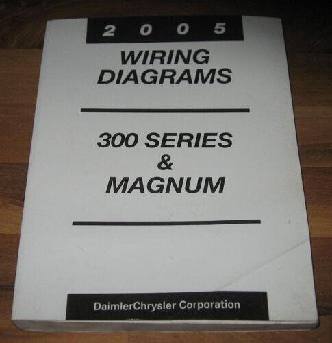 2005 Dodge Magnum Chrysler 300 Sedan Electrical Wiring Diagrams Service Manual