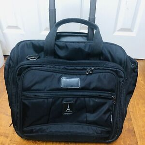 "Travelpro Crew 5 Black 16"" Wheeled Carry On Rolling Tote ..."