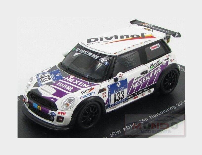 MINI Cooper Jcw  133 24H Nurburgring 2014 R.Zensen SPARK 1 43 SG144