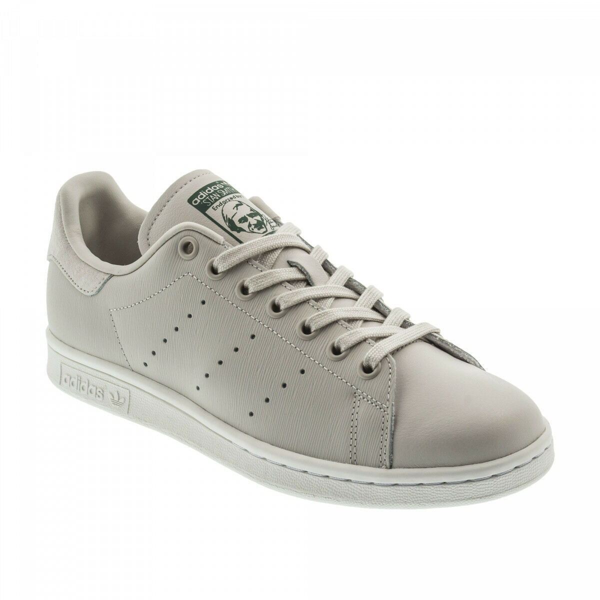 Adidas Originals Stan Smith Leder  Uomo Trainers Embossed Leder Smith Sneakers Schuhes CQ2204 f96c2c