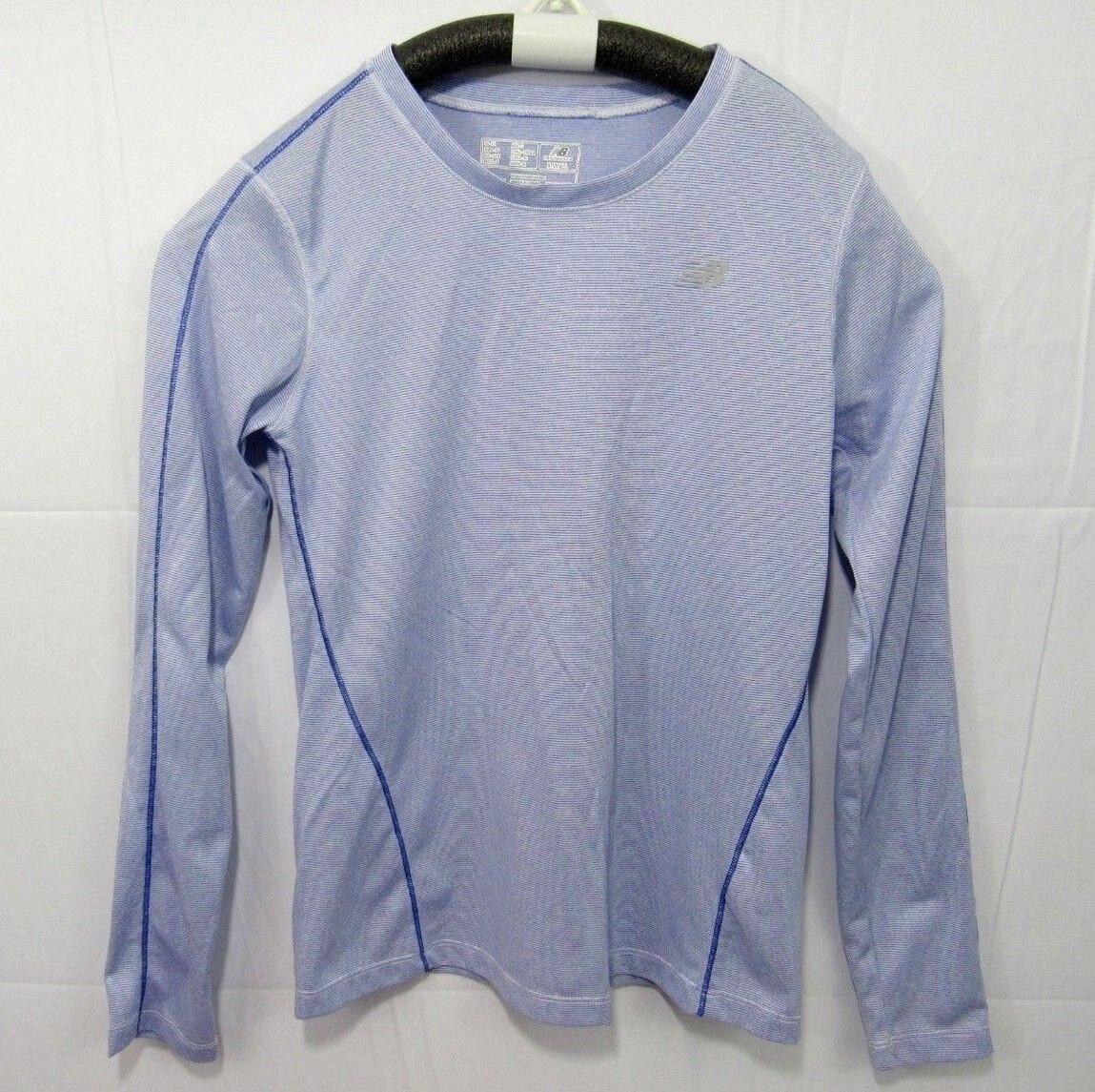 New Balance Womens Purple/Blue Athletic Shirt Lightning Dry XS