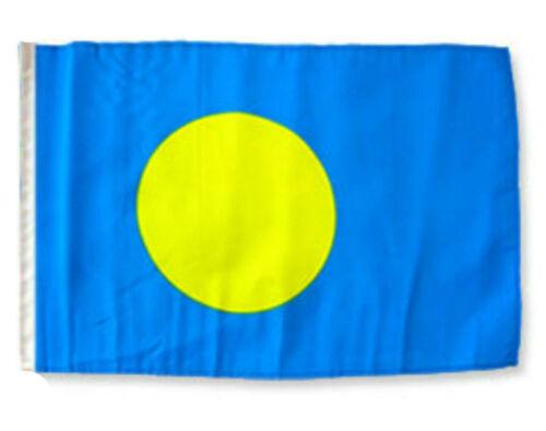 """12x18 12/""""x18/"""" Palau Sleeve Flag Boat Car Garden"""