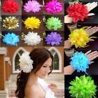 New Flower Fascinator Elastic Pin Hair Wrist Corsage Wedding Bridal Party