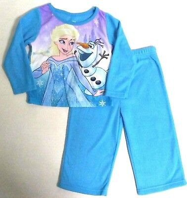 Frozen 2 Pajamas 2 pc Flannel Set BRAND NEW Sizes 2T 3T 4T or 5T  GREAT GIFT