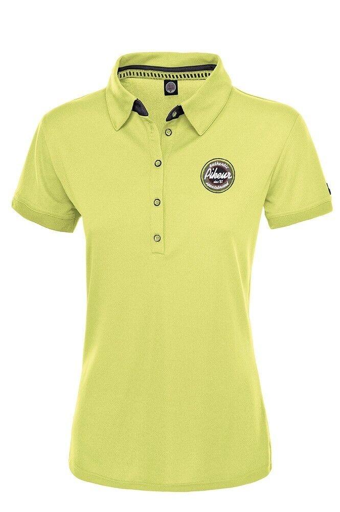 SALE Pikeur Dasha Ladies Polo Shirt Lime