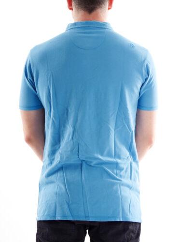 Blau Fermata Brunotti Superiore Taschino Colletto Camicia Parte Polo Bottone 00PwqpS