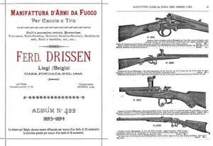 Details about Ferd  Drissen (Liege) 1893-4 Gun Catalog