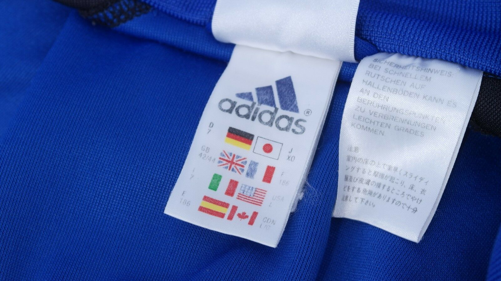 Adidas Adidas Adidas Herren Sportjacke Trainingsjacke men training jacket tracksuit top blau 63890e