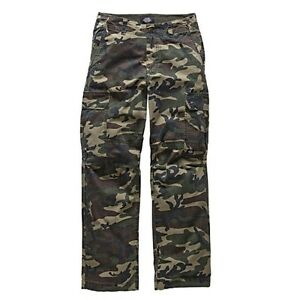 26bf3120194abe Image is loading Dickies-New-York-Ripstop-Cargo-Trousers-Camouflage-Men-