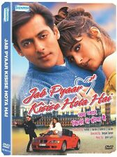JAB PYAAR KISISE HOTA HAI (1998) SALMAN KHAN, TWINKLE - BOLLYWOOD HINDI DVD