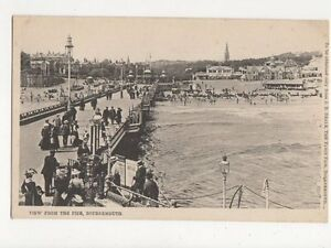 View From Pier Bournemouth Vintage Postcard  215a - Aberystwyth, United Kingdom - View From Pier Bournemouth Vintage Postcard  215a - Aberystwyth, United Kingdom