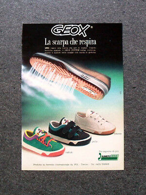 I230 Advertising Advertising 1990 GEOX, the shoe that breathes   eBay