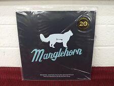 EXPLOSIONS IN THE SKY MANGLEHORN SEALED LP David Wingo Clear/Blue Streaks Vinyl