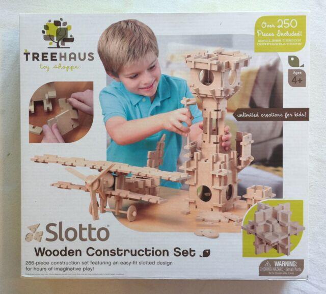 Treehaus Slotto Wooden Construction Set 266 pieces