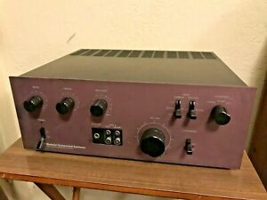 MCS-3837-NEC-AUA-6000E-Rare-Purple-Face-Vintage-Integrated-Amplifier-WORKS