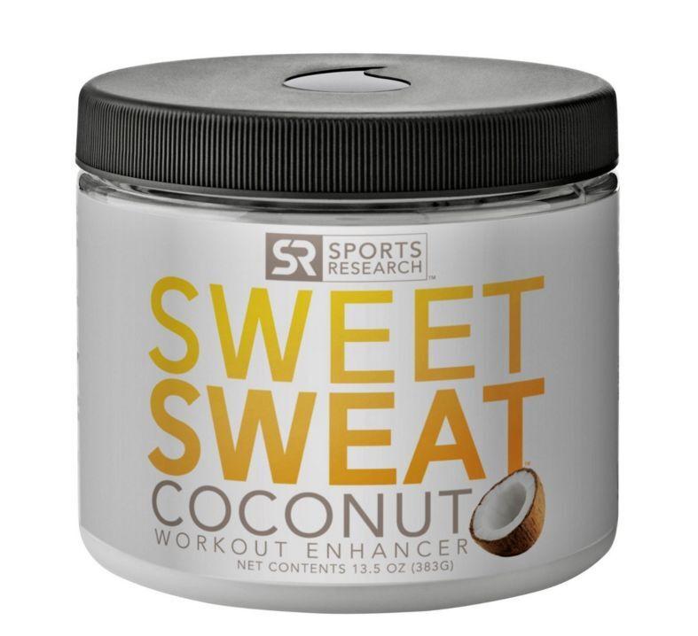Sweet Sweat EntraîneHommest Enhancer noix de coco, Sports Fitness, Premium Taille ABS Body nouveau