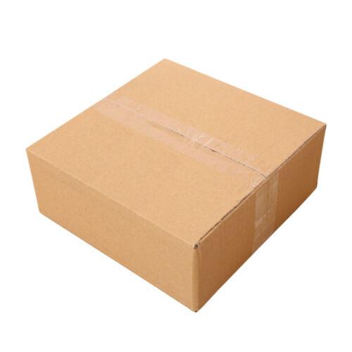 100pcs New Cardboard Paper Boxes Mailing Packing Shipping Box Corrugated Carton