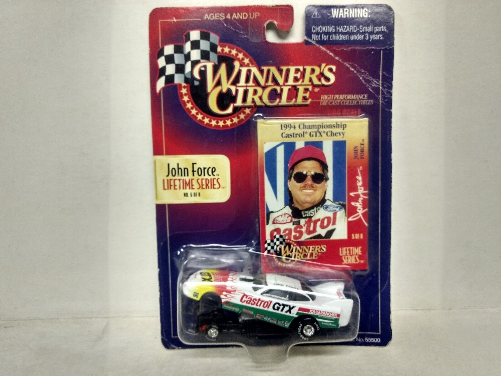 Nascar Winners Circle John Force 1994 GTX Chevy 1 64 Scale Diecast          mb80