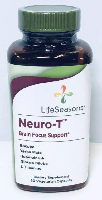 Best Brain Supplements 2020 Life Seasons   Neuro T Brain Focus Support 60VCaps exp 2020+2476