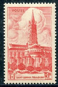 STAMP-TIMBRE-FRANCE-NEUF-N-772-BASILIQUE-DE-TOULOUSE