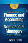 The Essentials of Finance and Accounting for Nonfinancial Managers by Edward Fields (Paperback, 2016)