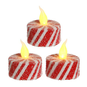 RAZ Imports Christmas Decor - Peppermint Candy Swirl B/O ...