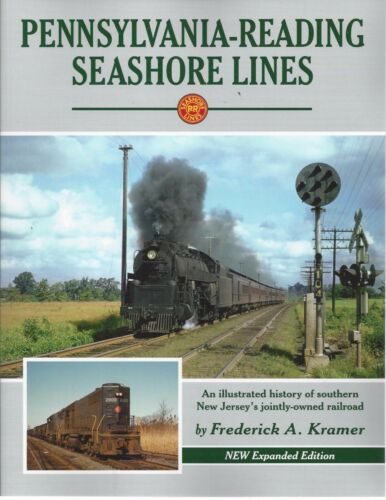 READING SEASHORE LINES in southern New Jersey PENNSYLVANIA NEW BOOK -