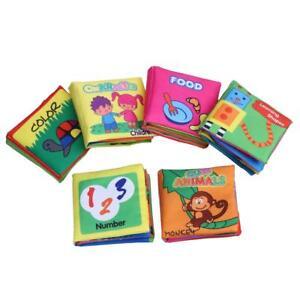 6-pcs-lot-Soft-Cloth-Baby-Books-Rustle-Paper-Infant-Educational-Preschool-Toys