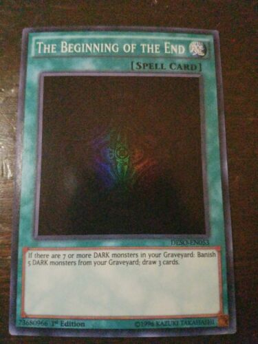 The Beginning of The End *Super Rare* DESO-EN053 1st Edition NM