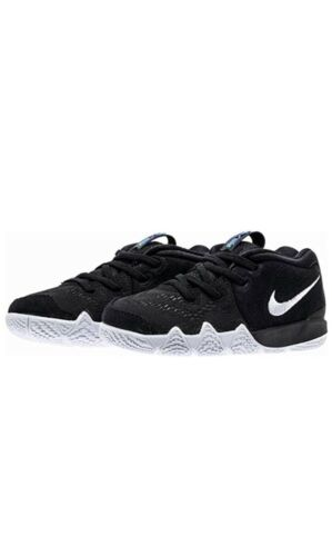 TD Nike KYRIE 4 002 Toddlers BLACK//WHITE Size 5c New NIB
