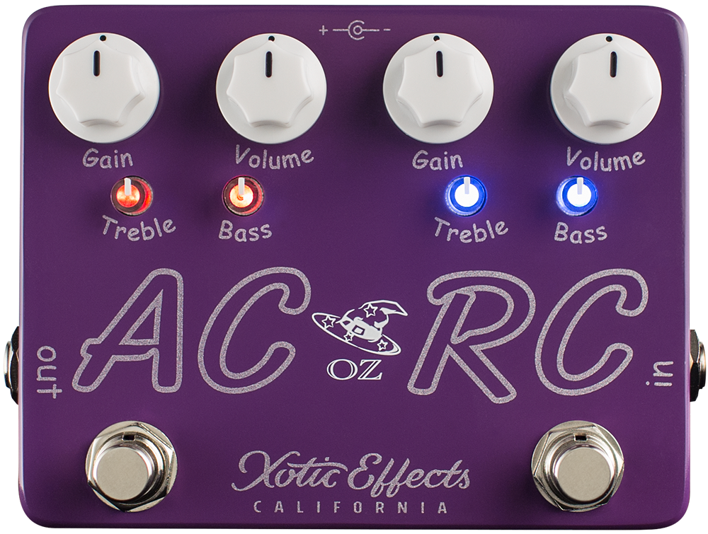Xotic AC/RC-OZ Oz Noy Limited Edition Boost Overdrive guitar effect pedal
