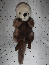 "Wild Republic 17"" w/tail Beaver Otter Plush Soft Toy Stuffed Animal"