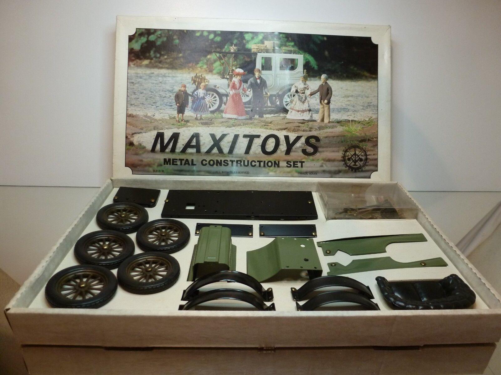 Ahorre hasta un 70% de descuento. MAXITOYS MAXITOYS MAXITOYS 6202 OLDTIMER METAL CONSTRUCTION SET - RARE - GOOD CONDITION IN BOX  la calidad primero los consumidores primero