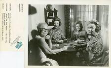 HELEN HAYES MYRNA LOY SYLVIA SYDNEY MILDRED NATWICK SNOOP SISTERS ABC TV PHOTO