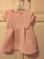 Jasper Conran Junior J Pretty Pink Quilted Dress 12 - 18 Months