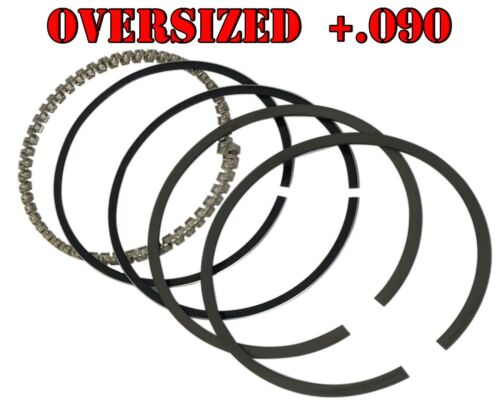 +.090 Oversized Piston Ring Set For Harley-Davidson Big Twin Motorcycles 1955-80