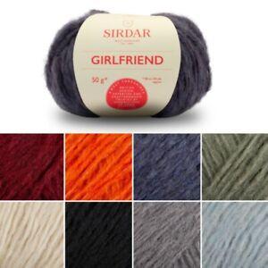 Sirdar-50g-Girlfriend-Chunky-Acrylic-Wool-Knitting-Yarn-Knit-Craft