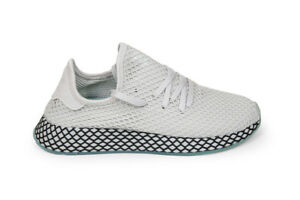 uk availability 69694 a1402 Image is loading Adidas-Originals-Deerupt-Runner-in-Grey-Clear-Mint-