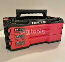 Craftsman Versastack Mechanics Tool Case Tool Box Empty New No Tools
