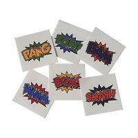 Superhero Tattoos (144 Per Order) Free Shipping