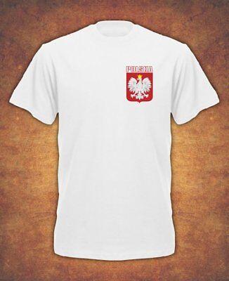 Koszulka Polska Polish Poland Football World Cup Dziecieca  T-shirt Kids