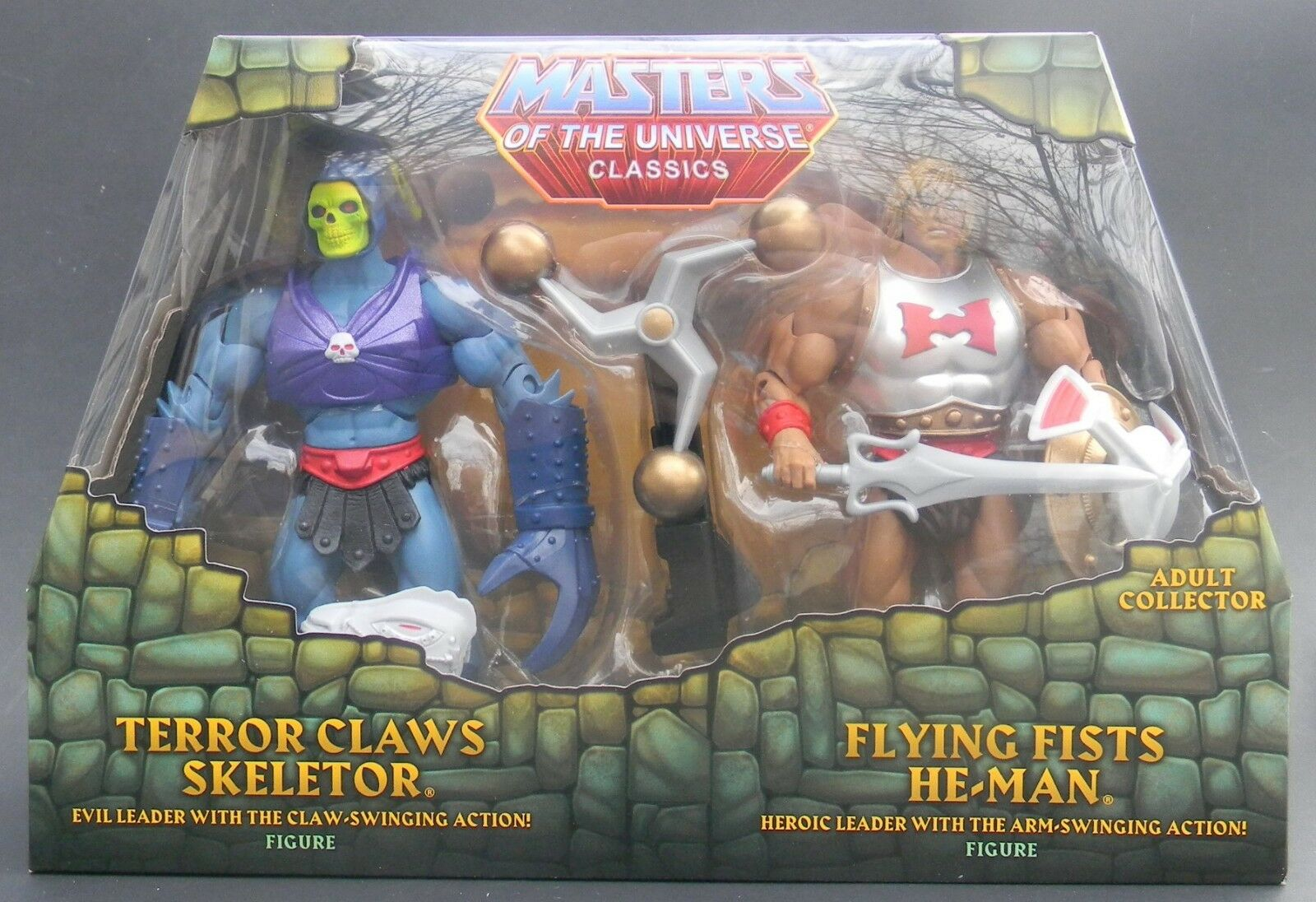 Masters of the  Universe classeeics MOTUC Terror Claws Skeletor Flying Fists He-uomo  forniamo il meglio